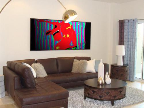 Froggy-Living-Room-Art