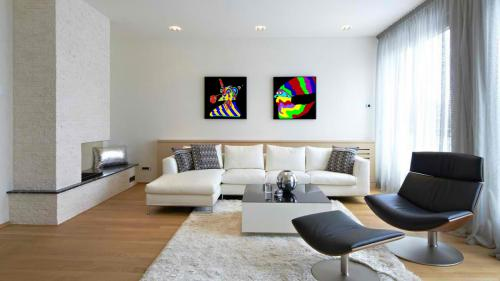Lobo-Scarf-Living-Room-Art